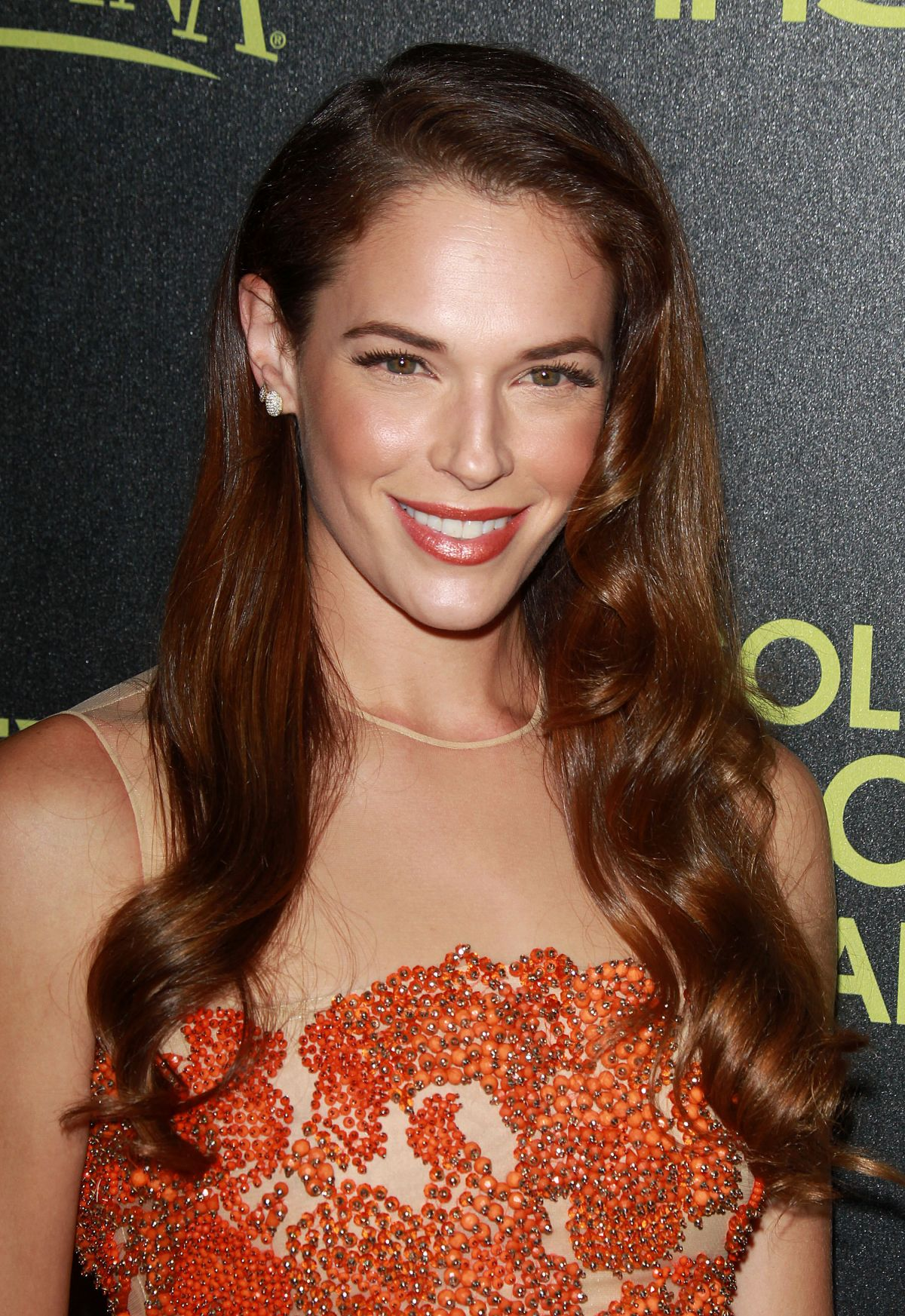 AMANDA RIGHETTI at Hfpa abd Instyle Celebrate 2015 Golden Globe Award Season in Hollywood