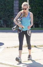 AMANDA SEYFRIED in Leggings Leaves a Gym in Los Angeles