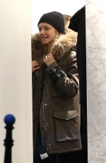 AMANDA SEYFRIED Out Shopping on the Champs-elysées Avenue in Paris