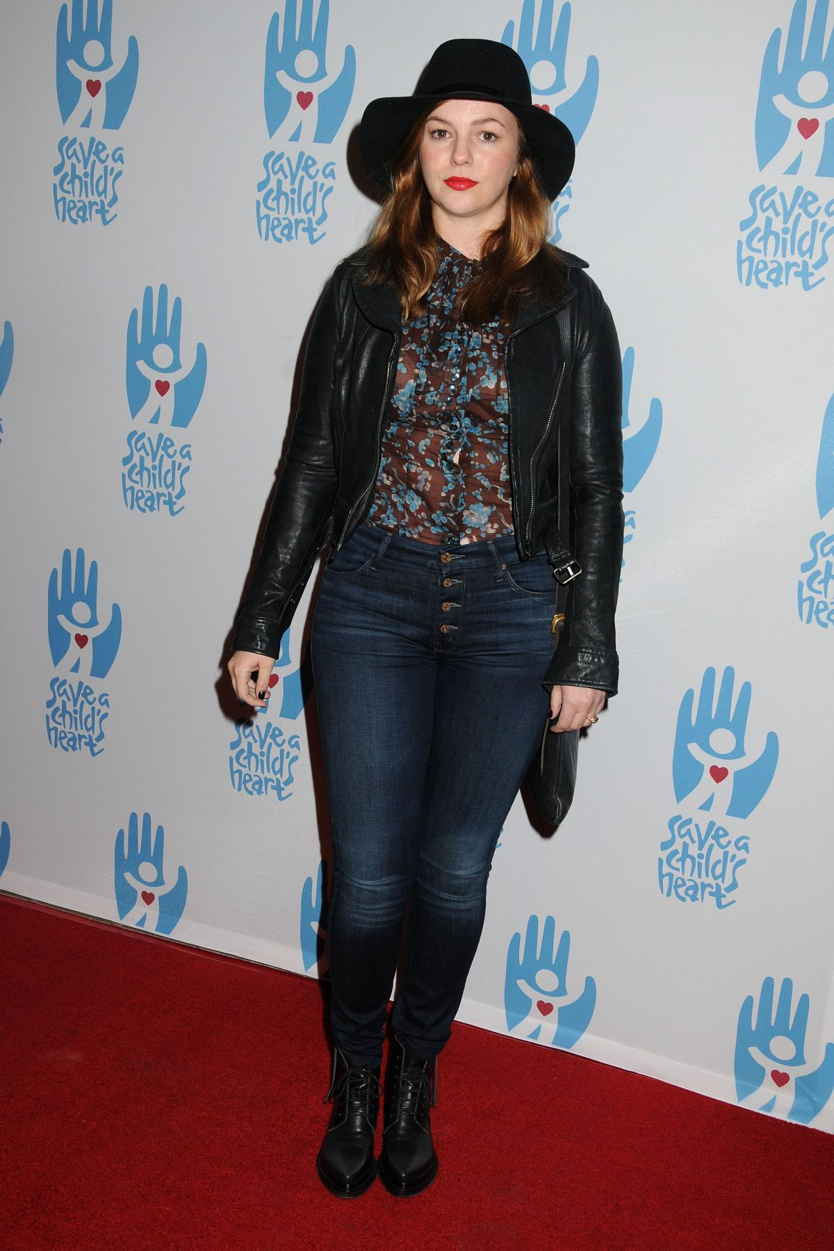 AMBER TAMBLYN at Save A Child