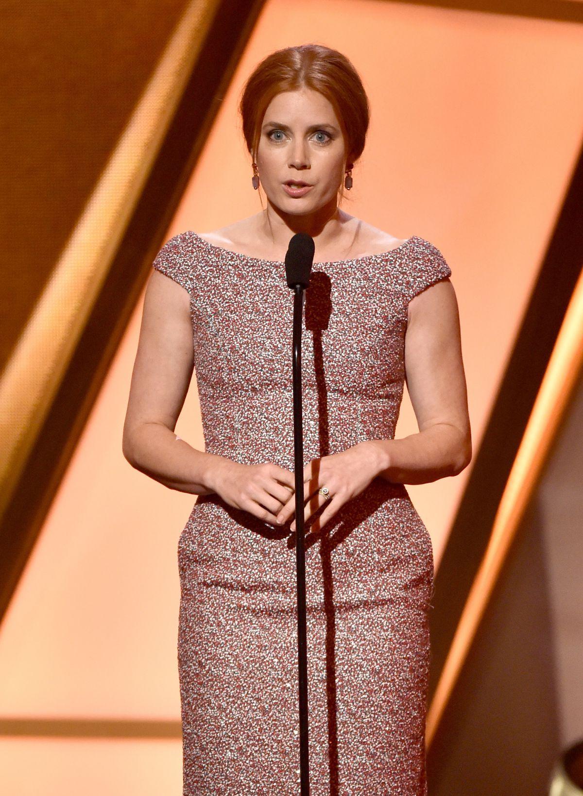 AMY ADAMS at 2014 Hollywood Film Awards