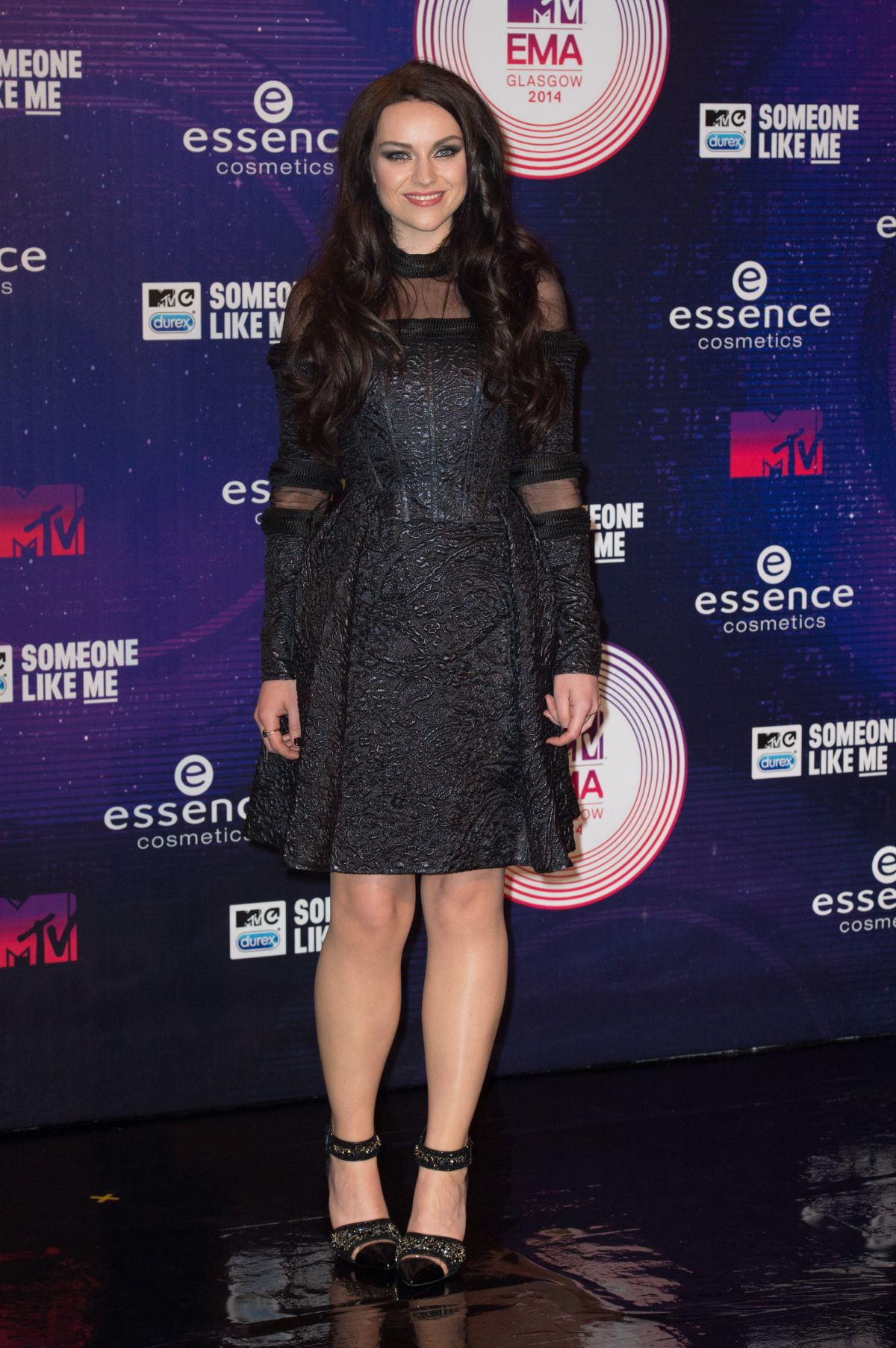 AMY MACDONALD at MTV Europe Music Awards 2014 in Glasgow
