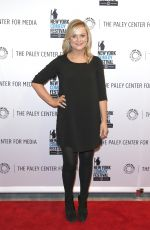 AMY POEHLER at a Panel Discussion in New York