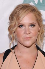 AMY SCHUMER at Night of Comedy Benefit in New York