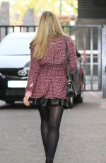 AMY WILLERTON Leaves ITV Studios in London 1111