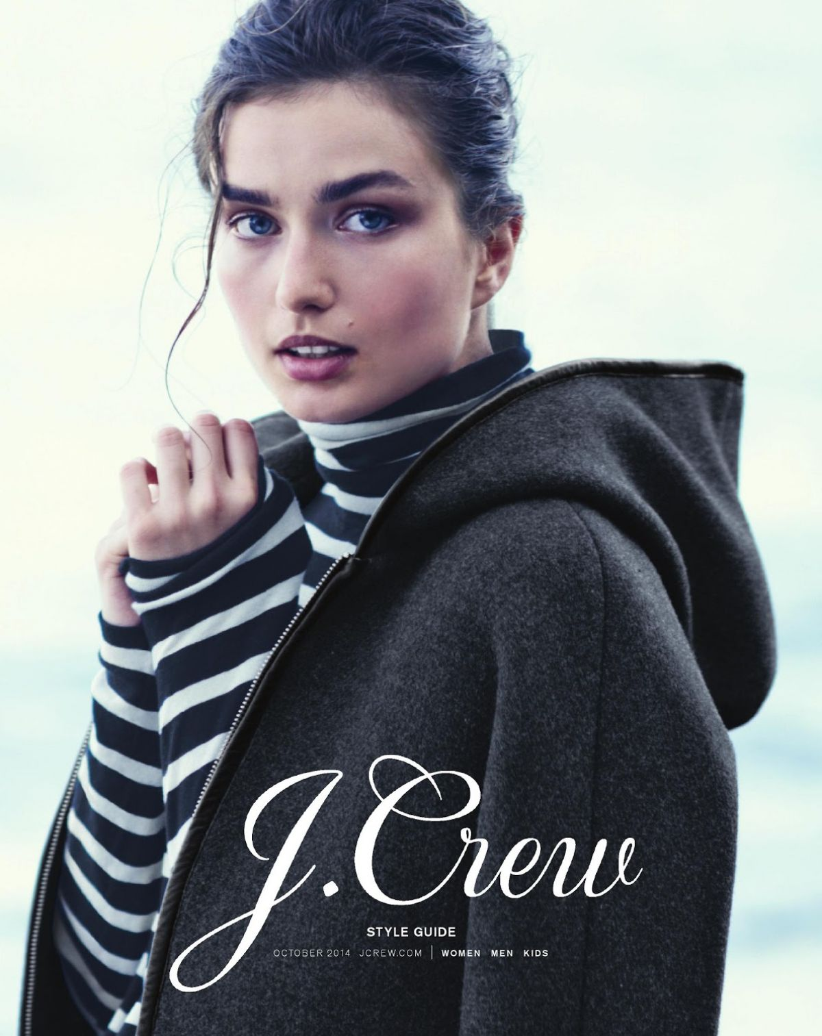 ANDREA DIACONU - J.Crew Catalog, October 2014