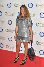 ANGELA GRIFFIN at Battersea Dog's Collars and Coats Gala in London