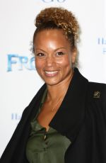 ANGELA GRIFFIN at Celebrity Singalong from Frozen at Royal Albert Hall