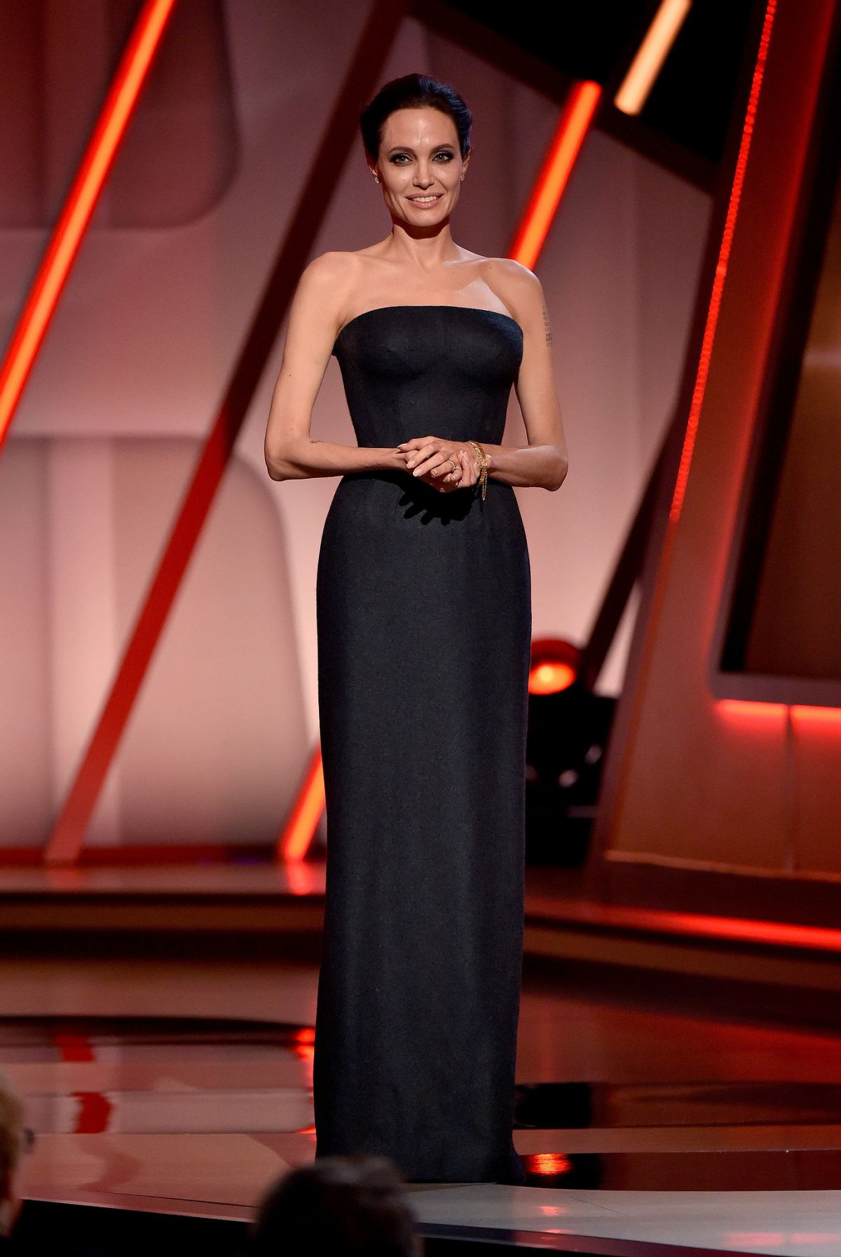ANGELINA JOLIE at 2014 Hollywood Film Awards