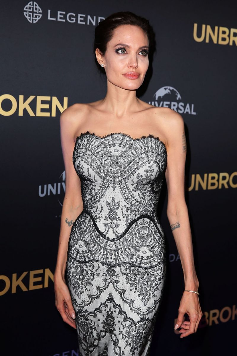 ANGELINA JOLIE at the Unbroken Premiere at the State Theatre in Sydney