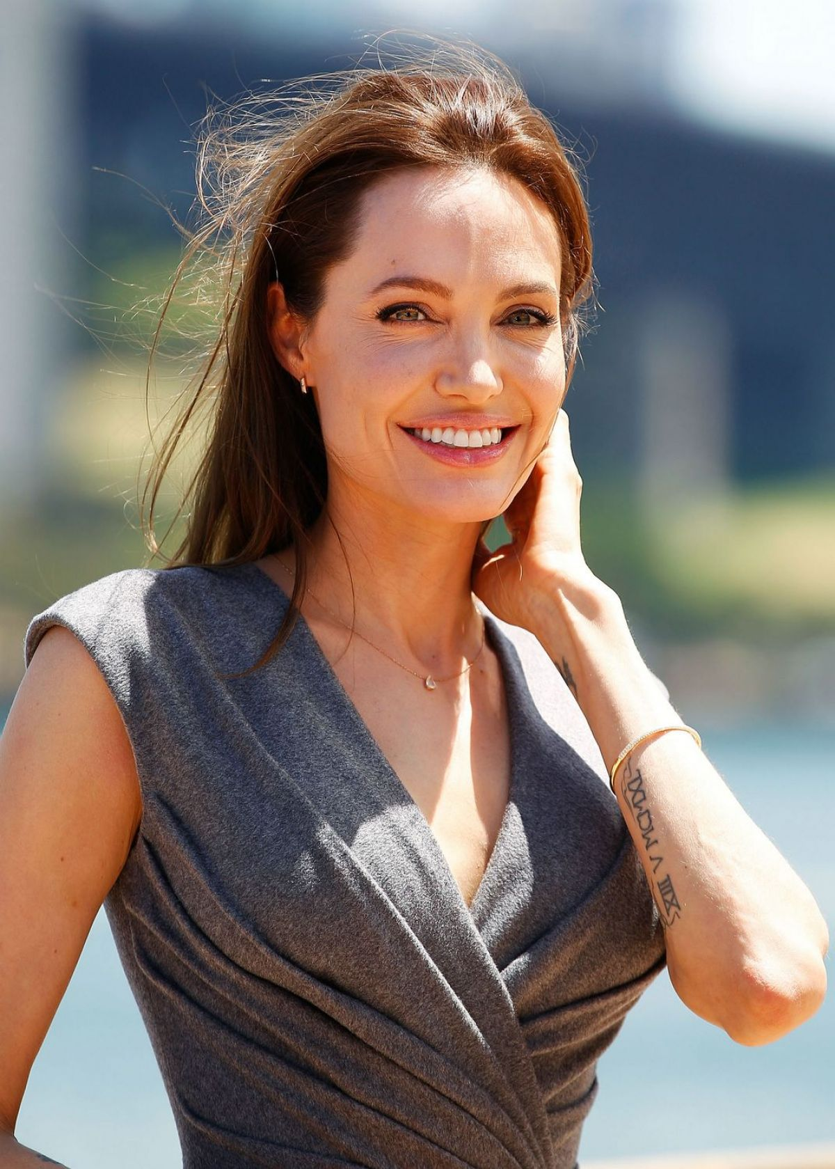 ANGELINA JOLIE at Unbroken Photocall at Sydney Opera House