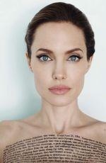 ANGELINA JOLIE in Vanity Fair Magazine, December 2014 Issue