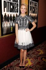 ANNA CAMP at Pitch Perfect Sing Along Screening in New York