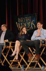 ANNA KENDRICK at Into the Woods Q&A in New York
