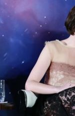 ANNE HATHAWAY at Interstellar Press Conference in West Shangai