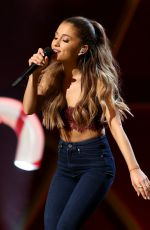 ARIANA GRANDE at A Very Grammy Christmas Rehearsals in Los Angeles