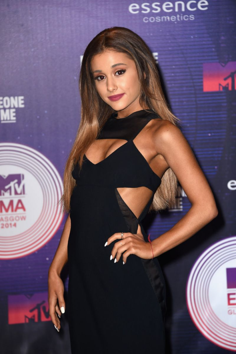 ARIANA GRANDE at MTV Europe Music Awards 2014 in Glasgow