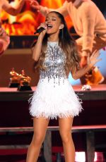 ARIANA GRANDE Performs at A Very Grammy Christmas in Los Angeles