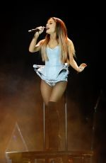 ARIANA GRANDE Performs at MTV EMA 2014 in Glasgow