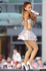 ARIANA GRANDE Performs on the Voice of Holland in Hilversum