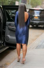 ASHANTI Leaves The View in New York