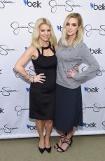 ASHLEE SIMPSON at Jessica Simpson Collection Event in Dallas