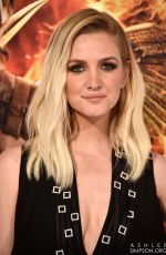 ASHLEE SIMPSON at The Hunger Games: Mockingjay – Part 1 Premiere in Los Angeles