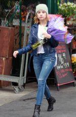 ASHLEY BENSON Shopping Flowers in Los Angeles