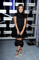 ASHLEY CAMPUZANO at Halo: the Master Chief Collection Launch in Hollywood