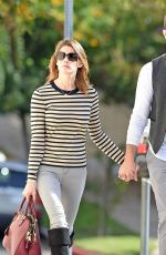 ASHLEY GREENE and Paul Khoury Out and About in Studio City