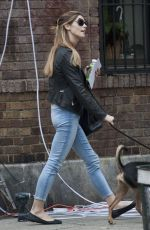 ASHLEY GREENE Arrives on the Set of Urge in New York