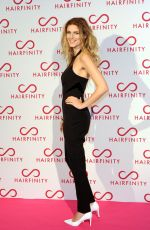 ASHLEY JAMES at Hairfinity Launch Party in London