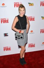 AUDREY WHITBY at Pants in Fire Premiere in Hollywood