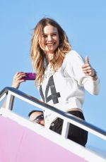 BEHATI PRINSLOO Departing for the London for 2014 Victoria