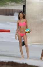 BEHATI PRINSLOO in Bikini at a Photoshoot in the Carribean