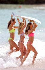 BEHATI PRINSLOO, MONICA JAGACIAK and ELSA HOSK in Bikinis at VS Phostohoot