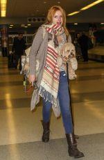 BELLA THORNE Arrives at JFK Airport in New York 1111