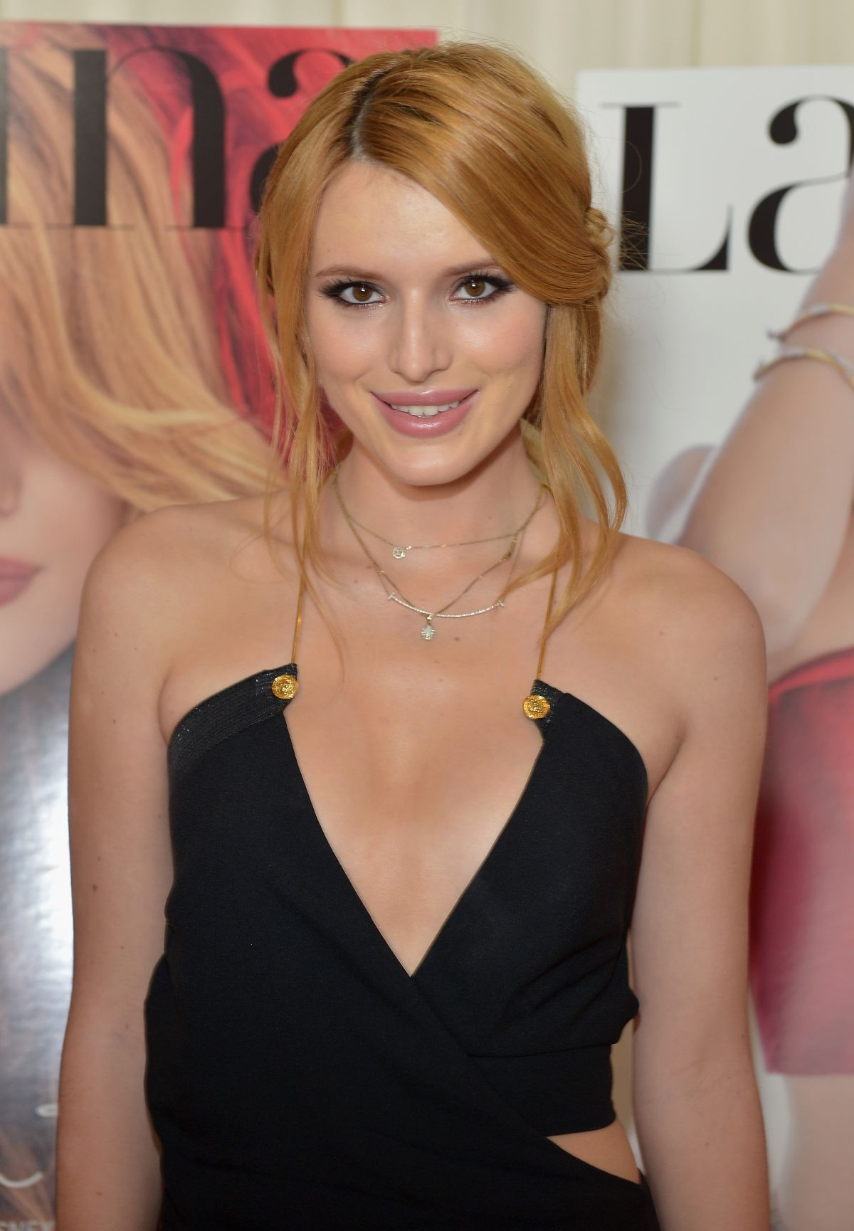BELLA THORNE at Latina Magazine