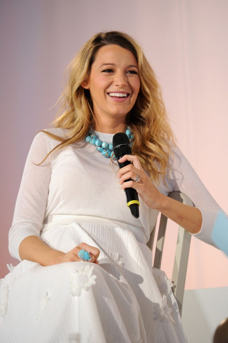 BLAKE LIVELY at Martha Stewart American Made Summit in New York ... Blake Lively