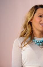BLAKE LIVELY at Martha Stewart American Made Summit in New York