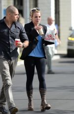 BRITNEY SPEARS Lunch on the Go in Los Angeles