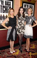 BRITTANY SNOW at Pitch Perfect Sing Along Screening in New York