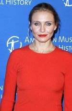 CAMERON DIAZ at 2014 Museum Gala in New York