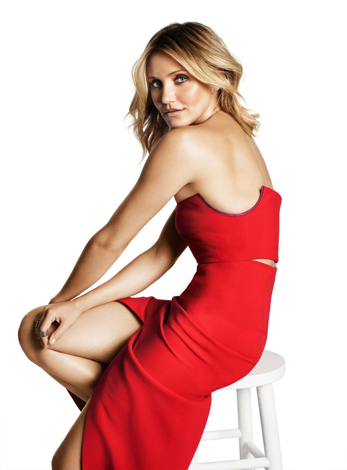 CAMERON DIAZ in Marie Vlaire Magazine, November 2014 Issue