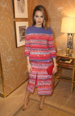 CAMILLA BELLE at Vogue and Tory Burch Celebrate the Tory Burch Watch Collection