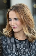 CAMILLA BELLE on the Set of Extra in Universal City 1311