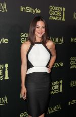 CAMILLE GUATY at Hfpa & Instyle Celebrate 2015 Golden Globe Award Season