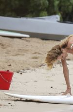 CANDICE SWANEPOEL at VS Photoshoot in the Carribean 0911
