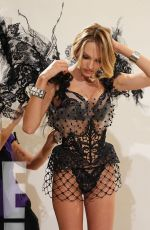 CANDICE SWANEPOEL Fitting for Victoria's Secret 2014 Fashion Show