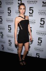 CARA DELEVINGNE at Topshop Topman Opening Dinner in New York